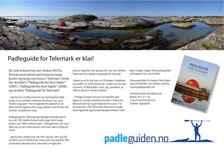 Padleguide for Telemark